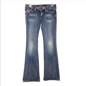 Big Star Sweet low cut jeans.